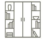 Bibliothèques et étagères