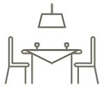Tables, chaises, buffets