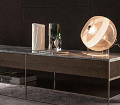 Console Calder Bronze Minotti